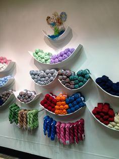 Our Yarn Wall!