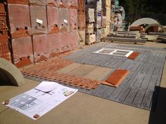 laying out the FastWall and arches