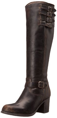 FRYE Women's Kelly Belted Tall-STO Engineer Boot * Review more details here : Boots for women
