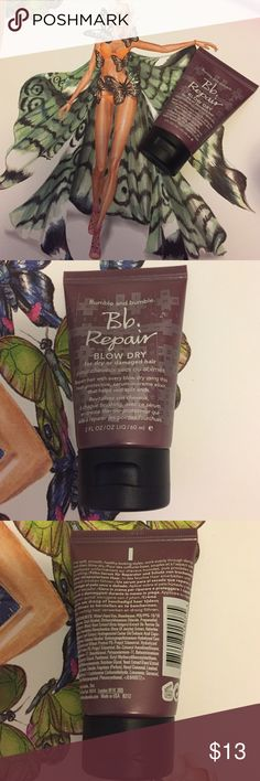 NEW Bb Repair 2 FL oz/ 60 ml Bb Repair blow dry for dry or damaged hair.                                                 Please note all my items has a letter G or marker spot somewhere on the outside. All items are Authentic!! No box. ALL my items are final sale Sephora Makeup