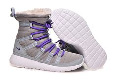 quality design 80315 3c963 Find New Arrival Nike Roshe Run Sherpa High Womens Grey Purple Shoes online  or in Footlocker. Shop Top Brands and the latest styles New Arrival Nike  Roshe ...
