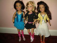 "Mattel Doll 3 Dolls Disney High School Musical TEEN TREND Dolls 17"" ���� in Dolls & Bears, Dolls, By Brand, Company, Character, Mattel, Other Mattel Dolls | eBay"