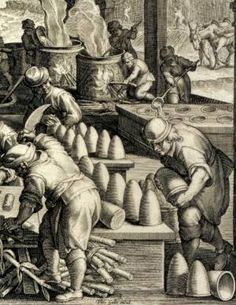 Making sugar around 1600, by Philippe Galle