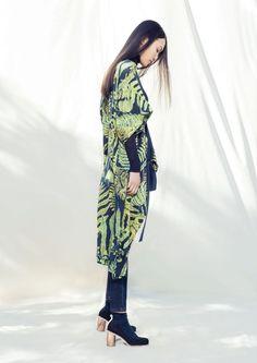 Fabulous new AW15 collection by Gorman, via We-Are-Scout.com. #botanicalprint #plants #print #fashion