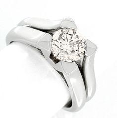 Neu! 1,14ct-Solitär-Ring Traum-Design! Luxus! Portofrei - Gold, Platin Schmuck…