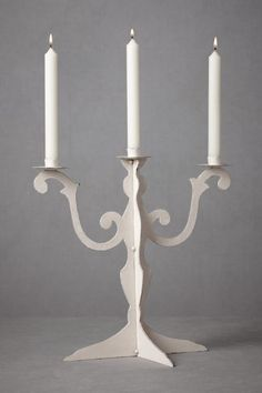 Pop-Up Candelabra- painted this could work, but its sold out! Candle Wedding Centerpieces, Wedding Vases, Centerpiece Decorations, Candelabra Centerpiece, Cardboard Chandelier, Diy Chandelier, Cardboard Crafts, Wood Crafts, Diy And Crafts