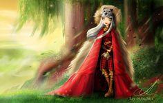 Cerise Wolf- Ever After high by Aayov.deviantart.com on @deviantART