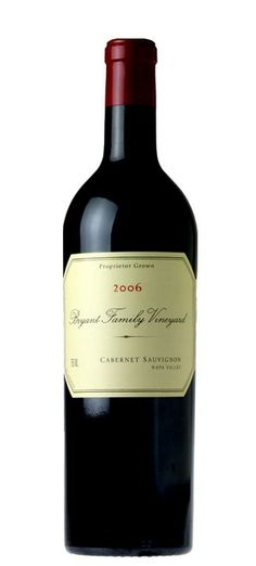 Bryant Family Vineyards Cabernet Sauvignon 2006 ow.ly/rLTbA Top Wines, Wine Time, Cabernet Sauvignon, Wineries, 50 Shades, Red Wine, Vineyard, Alcoholic Drinks, Champagne