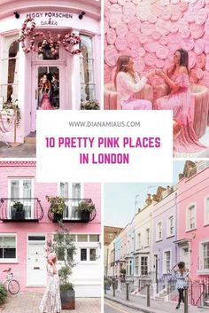 Travel Inspiration:In London, they surely know how to create instagrammable places. It has the girliest cafes, restaurants, decors, windows, doors, facades… it's a photo paradise for people like me, and I guess for you too if you've ended up reading this.  If you want to add a pinch of pink to your next visit to London, keep reading to find out the most beautiful pink places in the city, including some of the most famous instagram spots in London. #travel #pretty #pinkplace #londontravel…