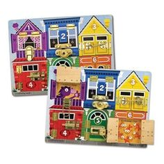 Melissa and Doug Latches - would work well for dementia patients who like to fiddle with things