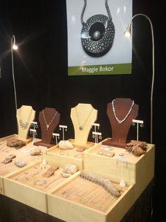 Maggie Bokor, jewelry display