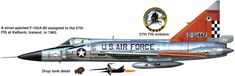 Convair F-102 Delta Dagger | USA | 57th FIS, USAF | F-102A-80-CO | 56 ...