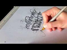 Calligraphy Masters by Mateusz Wolski (WLK) - Real Time - YouTube