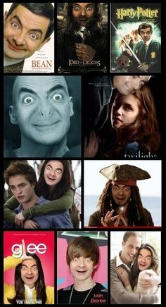 Everything is better with Mr. Bean..... literally snort laughed at this one