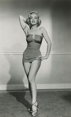 Marilyn Monroe...one of the all-time pin-ups, of course.