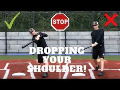 How to Stop Dropping Your Back Shoulder! Baseball Tips, Baseball Pitching, Royals Baseball, Baseball Training, Baseball Quotes, Baseball Stuff, Softball Coach, Girls Softball, Hitting Drills Softball