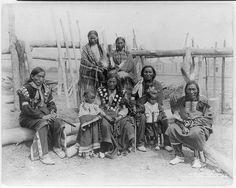 [Family of Sioux from the Indian Village]