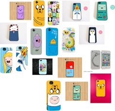 """""""The many phone cases of Adventure time."""" by marshell-lees-fionna ❤ liked on Polyvore"""