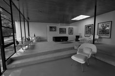 A Virtual Look Into Eames and Saarinen's Case Study House #9, The Entenza House,The Entenza House in 2011. Image © Andrew B Hurvitz (Flickr user hereinvannuys)