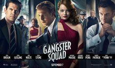 Nieuwe poster Gangster Squad