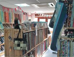 Our fabric shop in Newbury. Pop in for a browse!