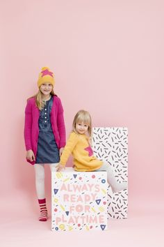 Novita patterns for kids and toys, children's pullover made with Novita Nalle yarn #novitaknits https://www.novitaknits.com/en