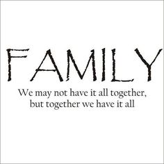 #Truth about #family