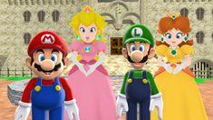 Mario x Peach and Luigi x Daisy Together. by 9029561