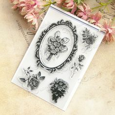 NCraft Clear Stamps N1239 Scrapbook Paper Craft Clear stamp scrapbooking