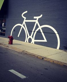 "Would people in Little Rock like to see something like this? ""Chicago bike art"" #bikeart"
