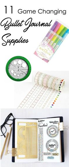 11 Game Changing Bullet Journal Supplies Unter 10 US-Dollar – Der zierliche Planer Journal Layout, My Journal, Journal Pages, Smash Book, Bujo, My Planner Colibri, Glitter Unicorn, Bullet Journal Hacks, Bullet Journals