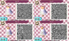 Animal Crossing: New Leaf: Wedding Dress QR Code