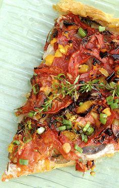 Ника Белоцерковская - Быстрый томатный пирог