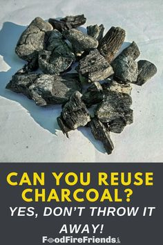 Can you reuse unburned charcoal for your next cook? Is it advised? If so, how? And are there any other uses for only partially used charcoal? We answer all these questions and more in this very detailed yet interesting article!! Outdoor Grill Area, Outdoor Grilling, Grilling Recipes, Reuse, Charcoal, Herbs, Cook, Canning, This Or That Questions