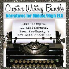 Creative writing class lesson plans high school