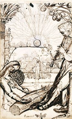 Corners of Paradise: William Blake, Samuel Palmer & 'the Ancients' - Victoria and Albert Museum