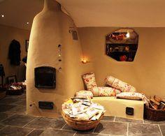 Finoven van Tichelaar www.hetstenenvuur.be Leemkachel - accumulatiekachel