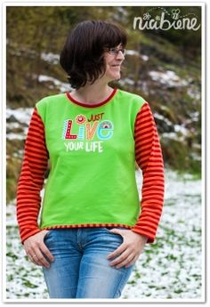 """Shop.nicibiene.de - Vektordatei """"just LIVE your life"""""""