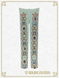 Mon Chouchou Hermitage柄 タイツ/Mon Chouchou Hermitage tights | BABY,THE STARS SHINE BRIGHT
