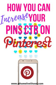 A majority of people are visual learners and Pinterest is all about the visuals. Learn how to increase your pins Click-Through Rates on Pinterest. Social Media Content, Social Media Tips, Marketing Tools, Marketing Strategies, Twitter Tips, Pinterest Blog, Blogging For Beginners, Make Money Blogging, Pinterest Marketing