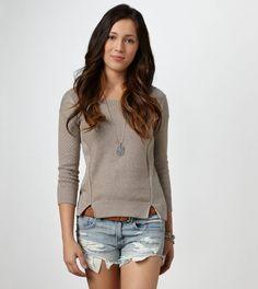 AE Pointelle Sweater