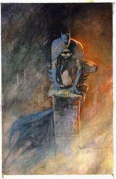 Bill Sienkiewicz - Batman