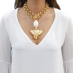 Urban Jewelry, Brass Jewelry, Beaded Jewelry, Jewelery, Pearl Jewelry, Jewelry Necklaces, Colar Fashion, Fashion Necklace, Fashion Jewelry