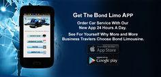 Bond Limousine Mobile App!