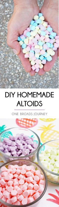DIY Homemade Altoids Mints - made with essential oils - One Broads Journey