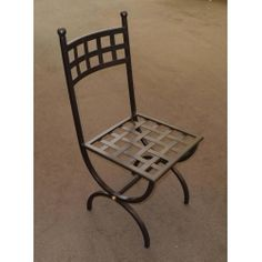 Chair Wrought Iron. Customize Realizations. 445 Outdoor Chairs, Outdoor Furniture, Outdoor Decor, Chair Bench, Wrought Iron, Home Decor, Christ, Iron, Decoration Home