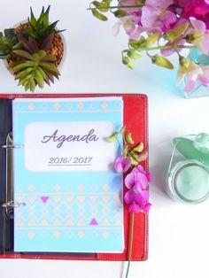 agenda 2016 / 2017 format a5 à imprimer gratuitement + fiches pratiques