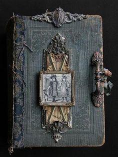 exquisite altered book!