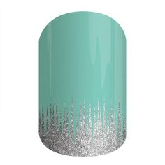 Cute alternative to expensive French tips! Jamberry Nail Wraps, Iced! https://taylorerickson.jamberry.com/product/iced#.Vbb6JvlViko