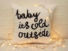 Image via We Heart It http://weheartit.com/entry/225937631 #cold #cushion #lights #lol #room #teenager #love